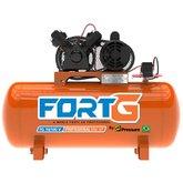 Compressor de Ar Mono 2HP 10 Pés 100 Litros Bivolt - FORTG-FG.T001
