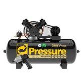 Kit Compressor Pressure ON-10/175BRT-N + Chave Parafusadeira de Impacto King Tony - PRESSURE-K104