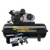 Kit Compressor de Ar Onix Pressure ON30250VT 30 Pés 250L Trifásico + Chave Parafusadeira de Impacto FortG Pro FG3400 1 Pol. + Mini Chave Parafusadeira de Impacto FortG Pro FG3400 58,4Kgfm - PRESSURE-K113