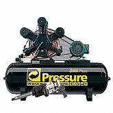 Kit Compressor de Ar Trifásico Pressure ON60/425W + Chave de Impacto Pneumática Shallper SK-79/S + Mini Parafusadeira de Impacto Pneumática FortG Pro FG3100 - PRESSURE-K116