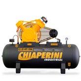 Compressor Industrial 25 Pés 250 Litros 5 HP 220/380 V - CHIAPERINI-CJ25APV250L