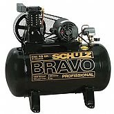 Compressor Schulz BRAVO CSL 10 BR/100 Mono Profissional Industrial - SCHULZ-MONOCSL10BR