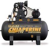 Compressor 140psi 10MPI/150 Litros Monofásico 2 HP - CHIAPERINI-10/150LMONO