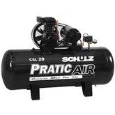 Compressor Pratic 20/200 Litros Trifásico - SCHULZ-CSL20/200L