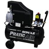 Motocompressor 8.2/25 Litros 2HP  - SCHULZ-CSA8.2-25L