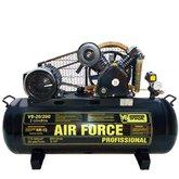Compressor de Ar 20 Pés 175PSI 5HP Trifásico 200 Litros - V8 BRASIL-26809