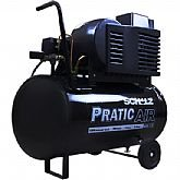 Motocompressor Pratic Air 50 Litros 1,5 HP Bivolt - SCHULZ-CSI7,4/50L