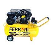 Compressor de Ar Mega Turbo 2HP 50 Litros Bivolt - FERRARI-C-50L