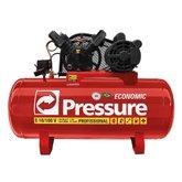 Compressor de Ar 10 Pés 100 Litros Trifásico - Economic  - PRESSURE-E10/100VT