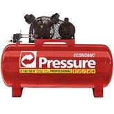 Compressor de Ar Monofásico 10 Pés 150 Litros 110/220V - Economic - PRESSURE-E10150VM
