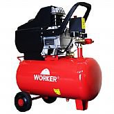 Motocompressor de Ar 2HP 24 Litros 8Bar  - WORKER-2454