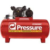Compressor Economic 10 Pés 150 Litros 140 Libras Trifásico  - PRESSURE-E10150VT