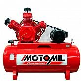 Compressor de Ar Industrial 3 Pistões 15 HP Trifásico 220/380 V - MOTOMIL-MAW-60/350I