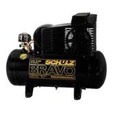 Compressor de Ar 6 Pés Bravo Monofásico 140 Lbf/pol - SCHULZ-CSL6BR/60L