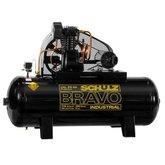 Compressor de Ar Bravo 25 Pés 250 Litros 220/380 V - SCHULZ-CSL25BR/250