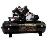 Compressor de Ar Bravo 60 Pés 350 Litros 220/380 V - SCHULZ-CSLV60BR/350