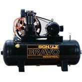 Compressor de Ar Trifásico 40PCM 261 Litros  Bravo CSL 40BR/250 - SCHULZ-922.9278-0