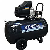 Motocompressor de Ar 2HP 100 Litros Monofásico  - HYUNDAI-HYAC100D