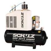 Compressor de Ar de Parafuso 45PCM 200 Litros 380V SRP 3015 Compact-II - SCHULZ-970.2450-0/F