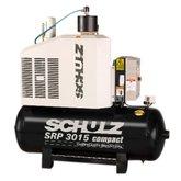 Compressor de Ar de Parafuso 59PCM 200 Litros 380V - SRP 3015 Compact-II - SCHULZ-97038930