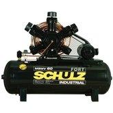 Compressor de Ar 60PCM 425 Litros com Motor Blindado 220/380V Trifásico - SCHULZ-MSWV60/425