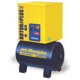 Compressor de Ar de Parafuso 4HP 10 Bar 17,6PCM Mono 67 Litros  - METALPLAN-ROTORPLUS0041AC