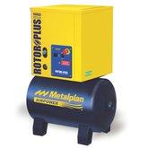 Compressor de Ar de Parafuso 4hp 7 Bar Trifásico 19,9PCM com Reservatório 67 Litros 220V - METALPLAN-ROTORPLUS004220/3