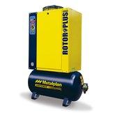 Compressor de Ar de Parafuso 6hp 8,0Bar Trifásico 27,4PCM 97 Litros 380V - METALPLAN-ROTORPLUS0069AB