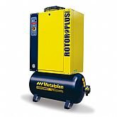 Compressor de Ar de Parafuso 15hp 7,5Bar Trifásico 61,4PCM 152 Litros  - METALPLAN-ROTORPLUS0153AA