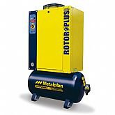 Compressor de Ar de Parafuso 15hp 9Bar Trifásico 55,9PCM 152 Litros  - METALPLAN-ROTORPLUS0153AB