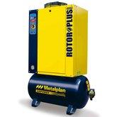 Compressor de Ar de Parafuso 25Hp 7,5Bar Trifásico 108,9PCM 152 Litros 380V - METALPLAN-ROTORPLUS0259AA