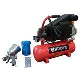 Motocompressor de Ar RDC 5.6/8 1HP  com Kit de Acessórios - BR MOTORS- RDC568KIT