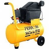 Motocompressor de Ar 7.6PCM 24 Litros Bivolt - FERRARI-CFA76