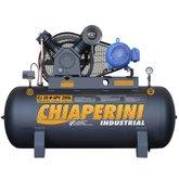 Compressor de Ar Monofásico 20PCM 200 Litros com Motor Blindado - CHIAPERINI-CJ20+APV200L