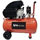 Motocompressor de Ar 115PSI 50 Litros  - BR MOTORS-RDC8.8/50L