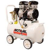 Motocompressor Odontológico de Ar 8 Pés 46 Litros  - MOTOMIL-33162.4