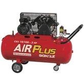 Compressor de Ar 2HP 10PCM 100 Litros  - SCHULZ-CSV-10/100L