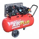 Compressor de Ar 2HP 10 Pés 100 Litros  - Air Plus - SCHULZ-CSV-10/100L