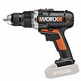 Furadeira de Impacto 1/2 Pol. sem Bateria e Carregador - WORX-WX3729