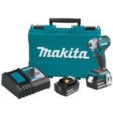 Parafusadeira de Impacto à Bateria 18V Bivolt com 2 Baterias e Maleta - MAKITA-DTD170RFE-BIVOLT