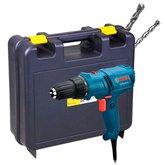 Kit Parafusadeira/ Furadeira 110V Bosch 06014470X + Maleta para Furadeiras + 2 Brocas para Concreto - BOSCH-K209