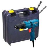 Kit Parafusadeira/ Furadeira 220V Bosch 06014470X + Maleta para Furadeiras + 2 Brocas para Concreto - BOSCH-K210