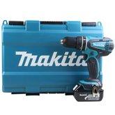 Parafusadeira / Furadeira de Impacto Bateria Íon de Lítio 18V  com Maleta - MAKITA-DHP456RFE3