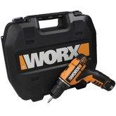 Parafusadeira / Furadeira com Bateria de Lítio 12V Bivolt - WORX-WX125