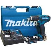 Parafusadeira / Furadeira à Bateria 12V com 2 Baterias 2.0Ah Bivolt - MAKITA-DF331DSAE
