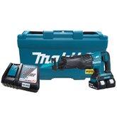 Serra Sabre a Bateria 18V 3.0Ah com 02 Baterias e Maleta - MAKITA-DJR360RF2