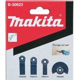 Kit de Lâminas para Cortes de Imersão para Multicortadora - 4 Peças - MAKITA-B-30623