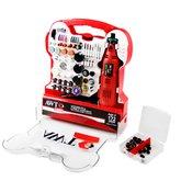 Micro Retifica 130 W  + Acessórios com 172 Peças - AWT-ARA-0172