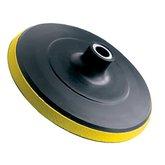 Disco de Borracha com Velcro 180mm para Esmerilhadeiras - BLACK JACK-J302