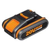 Bateria de Íons de Lítio 20V 2,0Ah Powershare  - WORX-WA35511